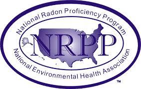 "NRPP "" National Radon Proficiency Program"" Logo"
