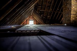 Photo of attic